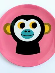 "Plate Ingela P Arrhenius ""Monkey"""