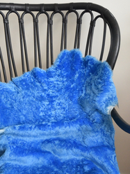 Sheepskin Big Merino, blue
