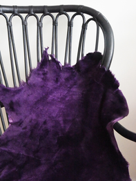 Sheepskin Big Toscana, purple