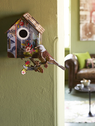 "Bird house big ""I'm back!"""