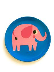 "Plate Ingela P Arrhenius ""Elephant"""