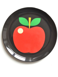 "Plate Ingela P Arrhenius ""Apple"""