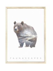 Poster A3 Faunascapes - Bear