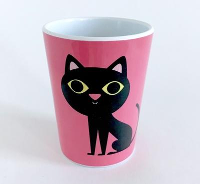 """Mug Ingela P Arrhenius """"Pink Cat"""""""