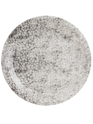 "Paper plate ""Grey bubbles"" 12 pcs"