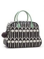 "Day Bag Littlephant ""Feathers"" svart"