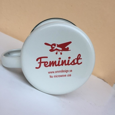Mug Enamel Ingela P Arrhenius,Feminist