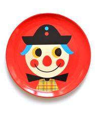 """Tallrik Ingela P Arrhenius """"Clown"""""""