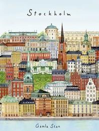 "A4-tryck ""Stockholm/Gamla stan"""