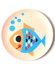 """Plate Ingela P Arrhenius """"Fish"""""""