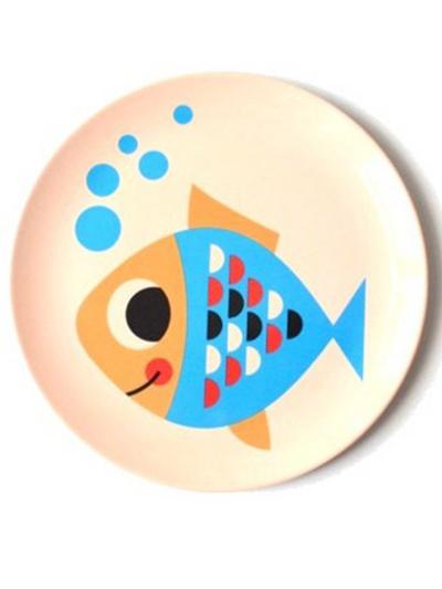 """Tallrik Ingela P Arrhenius """"Fish"""""""