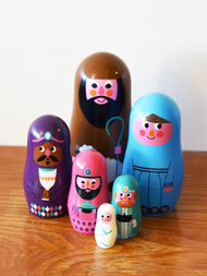 Matryoshka big, Nativity