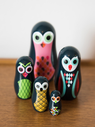 Matryoshka small Owl