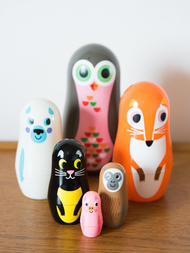 Matryoshka Animals, Stor uggla
