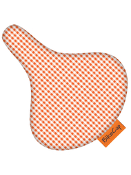 Bike Cap Rutig, orange