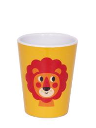 "Mug Ingela P Arrhenius ""Lion"", yellow"