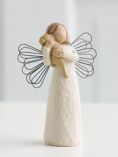 "Staty Willow Tree ""Angel of Friendship"""