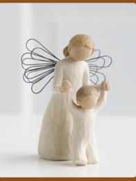 "Staty Willow Tree ""Guardian Angel"""