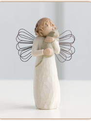 "Staty Willow Tree ""With affection Angel"""