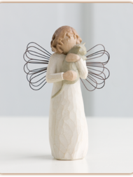 "Figurine Willow Tree ""With affection Angel"""