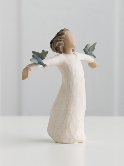 "Figurine Willow Tree ""Happiness"""