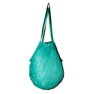 String bag, turquoise