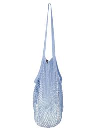 String bag, light blue