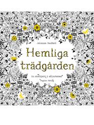 """Målarbok """"Hemliga Trädgården"""""""
