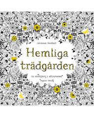 """Colouring book """"Hemliga trädgården"""""""