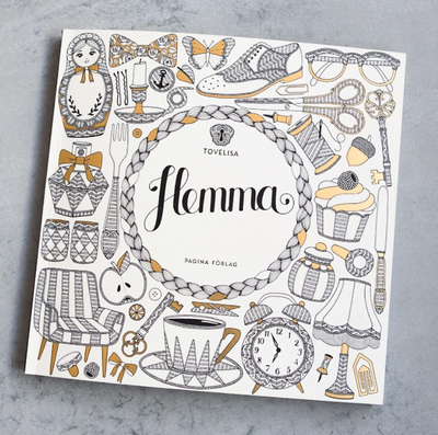 "Colouring book ""Hemma"""