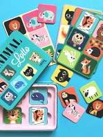 Game by Ingela P Arrhenius - Animal Lotto