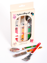 Cutlery Set Ingela P Arrhenius, Animals