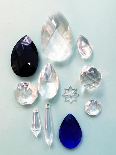 """Prism pendant """"Drop"""" 5 cm"""