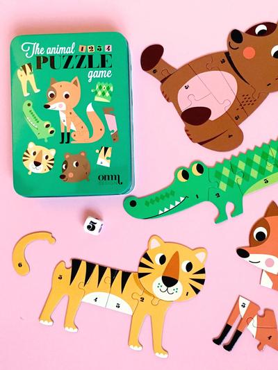 Game by Ingela P Arrhenius - Animal Puzzle Game