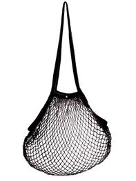 String bag, black
