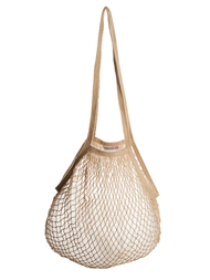 String bag, beige