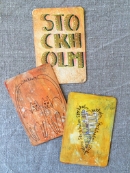 """Magnet """"Stockholm Orange"""" av Annu"""