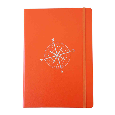 Notebook Leuchtturm 1917, compass/orange