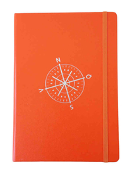 Anteckningsbok Leuchtturm 1917, kompass/orange