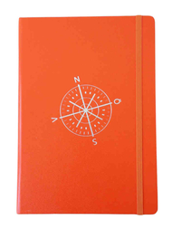 Notebook Leuchtturm 1917, compass/orange