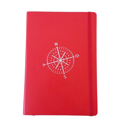 Notebook Leuchtturm 1917, compass/red
