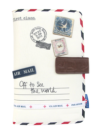 "Travel wallet ""Paper plane"""