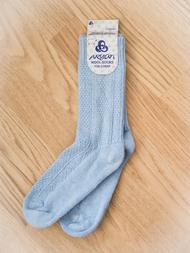 Wool Sock, light blue
