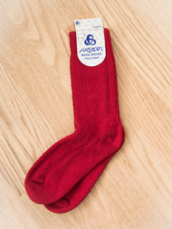 Wool Sock, red