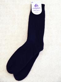 Wool Sock Mens size, black