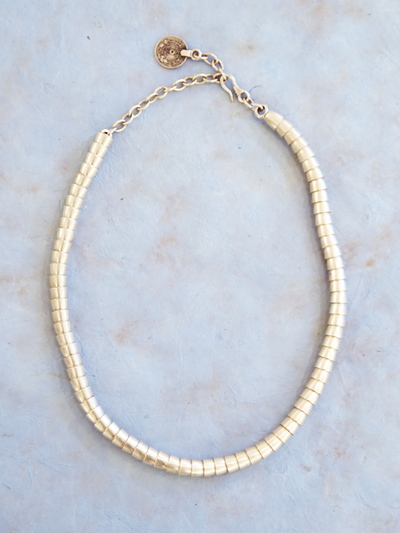 Necklace in zinc, New