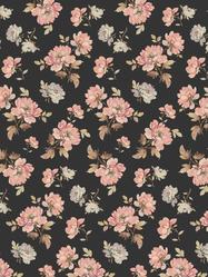 "Presentpapper/affisch ""Antique Floral"" 49x70 cm"