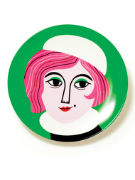 "Plate by Ingela P. Arrhenius ""Mrs. Peterson"""