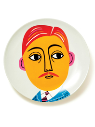"Plate by Ingela P. Arrhenius ""Mr. Peterson"""
