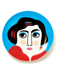 "Plate by Ingela P. Arrhenius ""Mrs. Edelmann"""